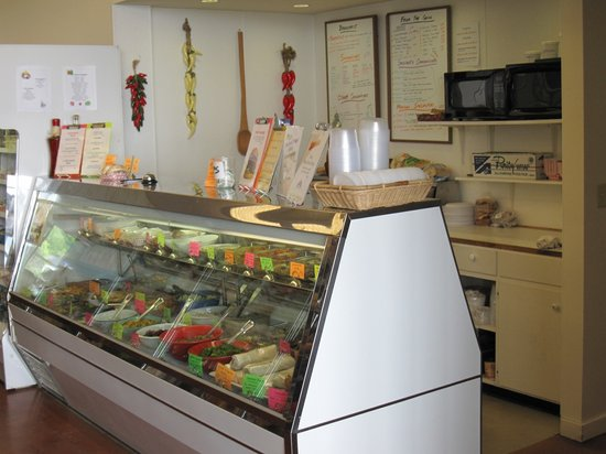 Little River Market & Deli : Deli area