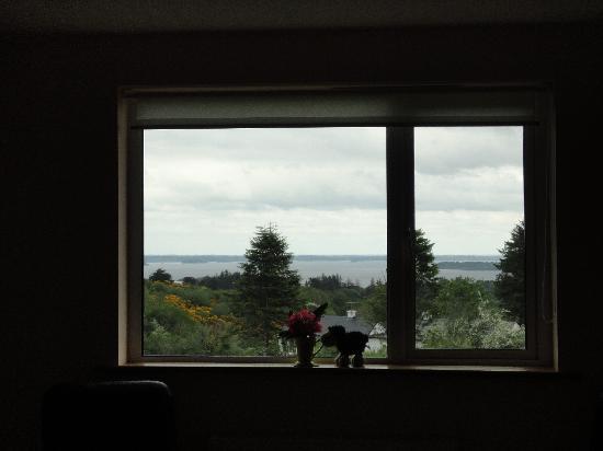 Tullaleagan Guesthouse: Blick aus unserem Fenster