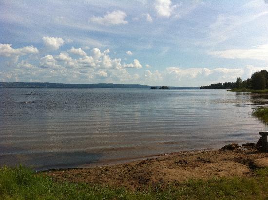 Mora Hotell & Spa: Orsasjön runt på cykel, fantastisk tur, kolla dock rutten innan, hottellet hade ingen koll