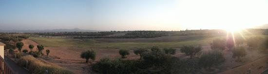 Hacienda del Alamo Golf Resort: View over Golf Course from Ghost Town