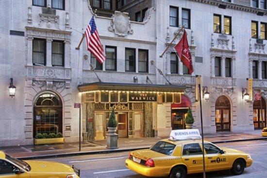 Warwick New York : Hotel Exterior