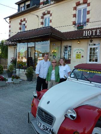 hotel le dauphin : Time to say goodbye