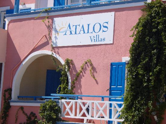 Atalos Suites: View of the frontage.