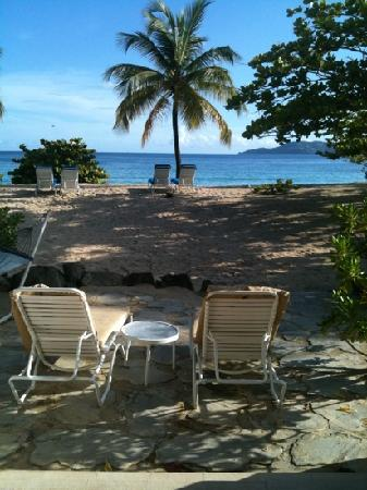 Spice Island Beach Resort: view from our room