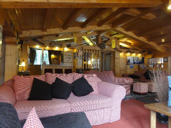 Hotel Chalet d'Antoine: l'entrée