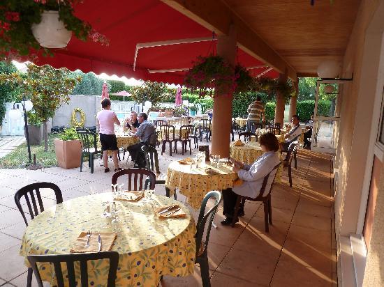 Logis Hôtel La Grande Bastide : Restaurant
