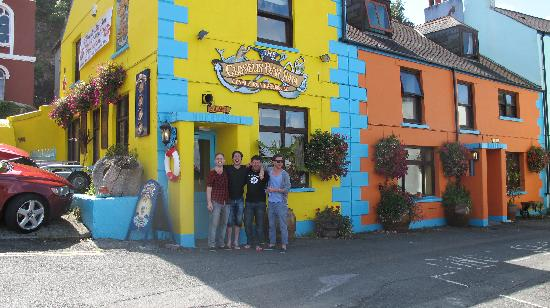 Clovelly Bay Inn : The four of us at the Clovelly