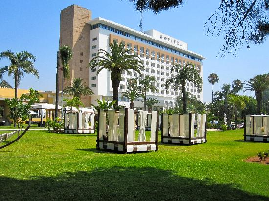 Sofitel Rabat Jardin des Roses: view from the sun chairs