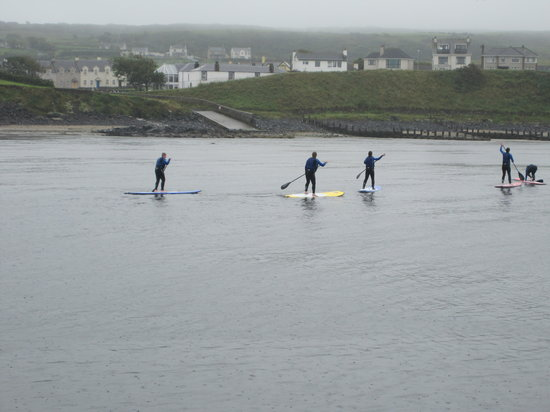 Surf Sup NI : in no time at all we are all doing it