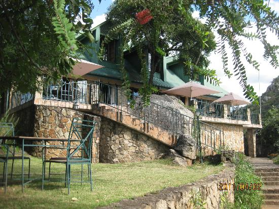 Nyanga, Zimbabwe: The main Lodge at Inn on Rupurara - 'Out of Africa' !