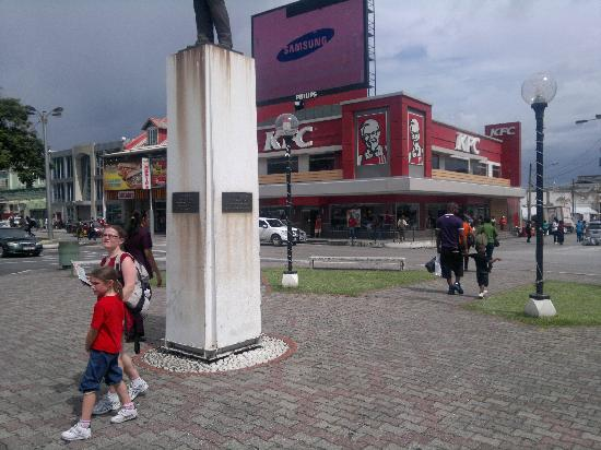 The KFC on Independence Square