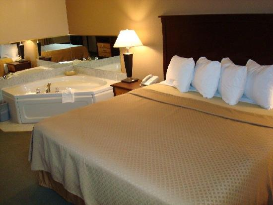 Quality Inn North Hill: Jacuzzi Suite