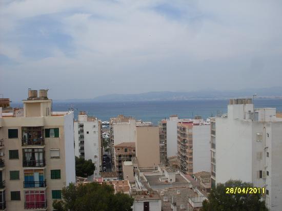Hotel Pinero Tal : Vista, la playa es a pocos metros