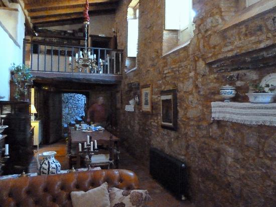 Hotel Boutique Condes Fucares: Living room