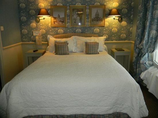 Hotel du Champ de Mars: chambre