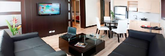 Radisson AR Hotel Bogota Airport: habitación suite ar  hotel bogota