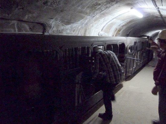Parque Minero de Almaden : Underground train