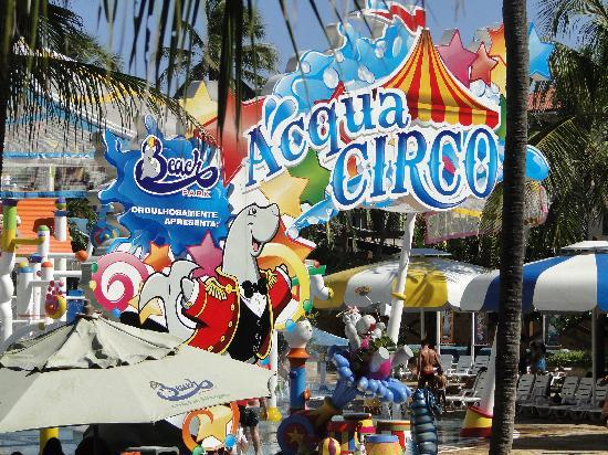Suites Beach Park Resort: AquaCirco, lo más nuevo de Beach Park