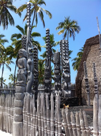 Honaunau, Hawaï : City of Refuge