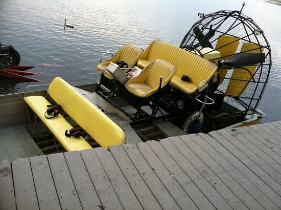 Gator Country Alligator Park: private tour boat