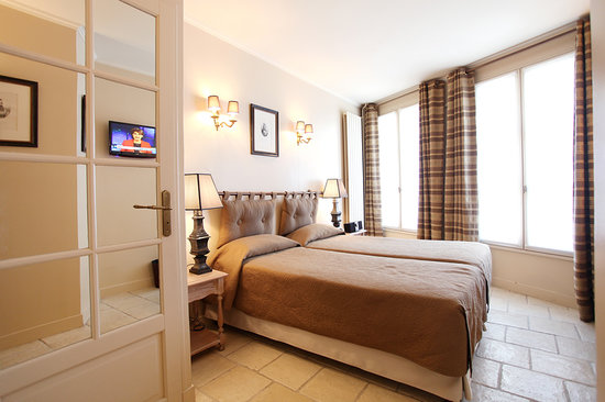 Hotel Albe Bastille : Superior double or twin room / Chambre double ou twin supérieure