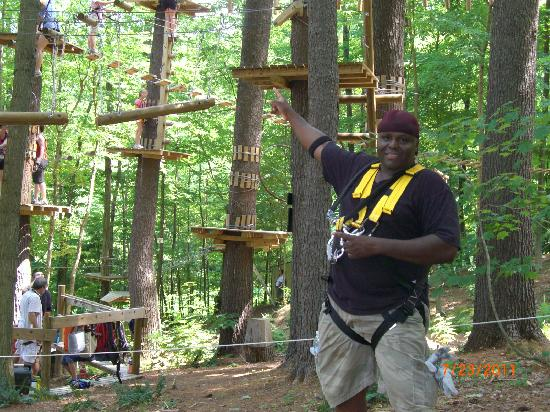 Catamount Aerial Adventure Park : Various courses