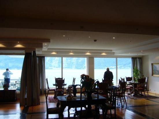 Hotel Ullensvang: vista desde el hotel