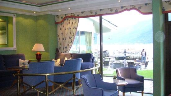 Hotel Ullensvang: living del hotel