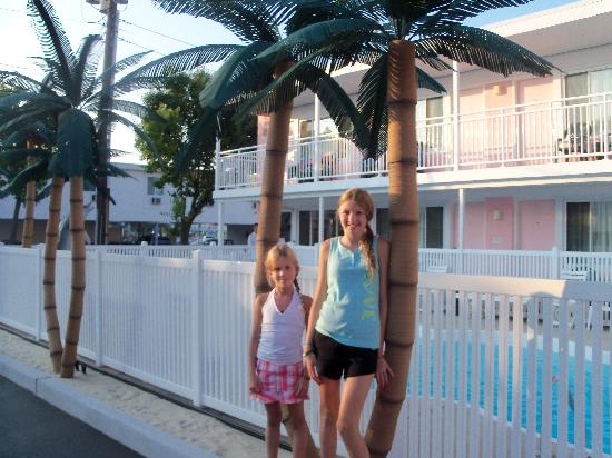 Sea-N-Sun Resort Motel: Ashley & Becca loved the Sun-N-Sea Resort Hotel