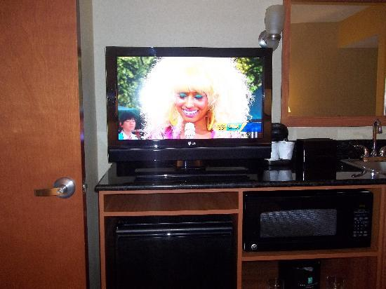Embassy Suites by Hilton Williamsburg: Living Room TV