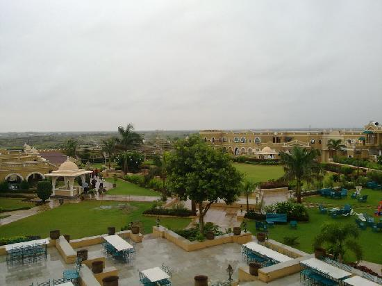 Heritage Khirasara Palace : view from terrace