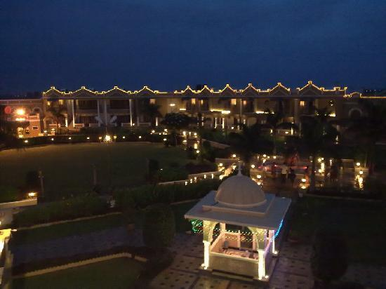 Heritage Khirasara Palace : night view