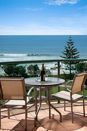 Alexandra Headland, Australien: View from balcony