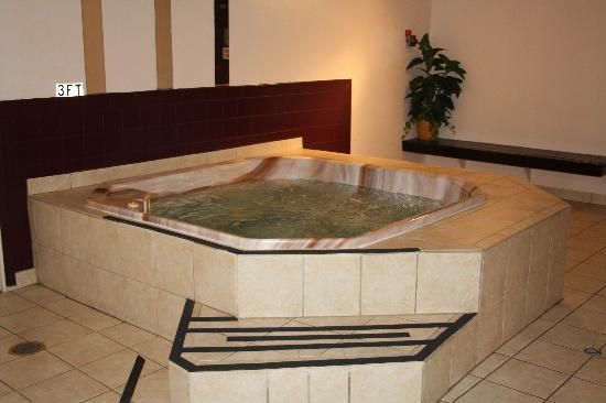 Ramada Spokane Valley: indoor hot tub