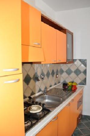 Al Cortiletto : La cucina attrezzata