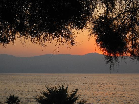 uno scorcio sul lungomare di Reggio Calabria