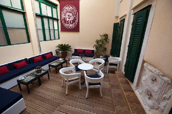 Palace Judita Heritage Hotel : Hotel terrace