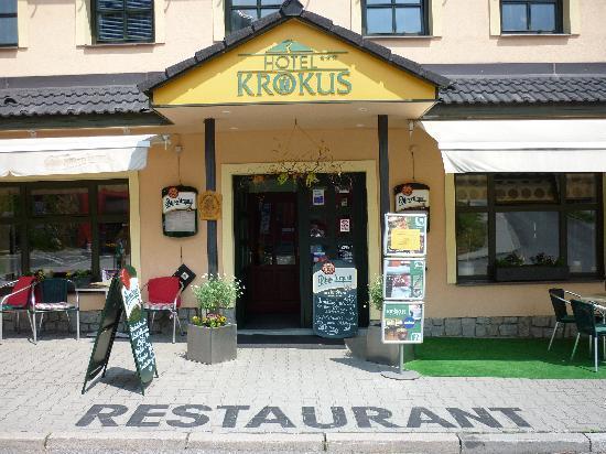 Pec pod Snezkou, Czech Republic: Entrance