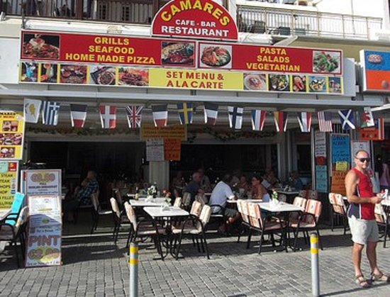 Camares Cafe Bar Restaurant: Camares
