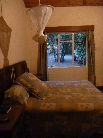 Pamusha Lodge: 蚊帳に入ってぐっすりオヤスミ...zzz