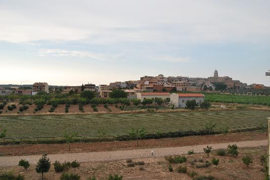 Vilar Rural de Arnes: Vista desde la habitación