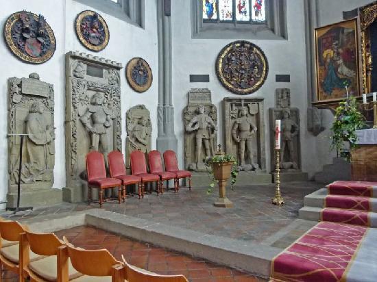 Ansbach, Tyskland: Schwanenritter-Kapelle