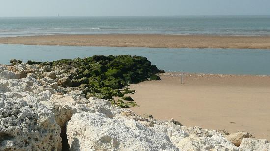 Club Med La Palmyre Atlantique: Marée basse