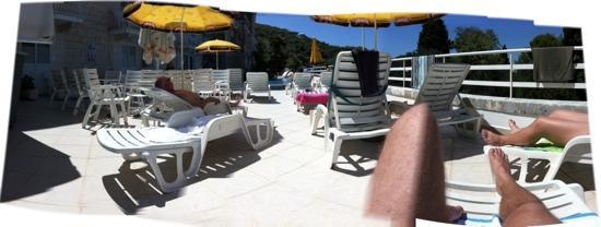 Hotel Jadran : pool area