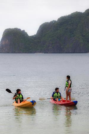 El Nido Resorts Miniloc Island: Kayaking is one of our favorite activities in El Nido Miniloc.