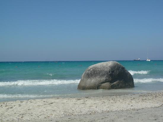 Villasimius, Italie : spiaggia di campolongu