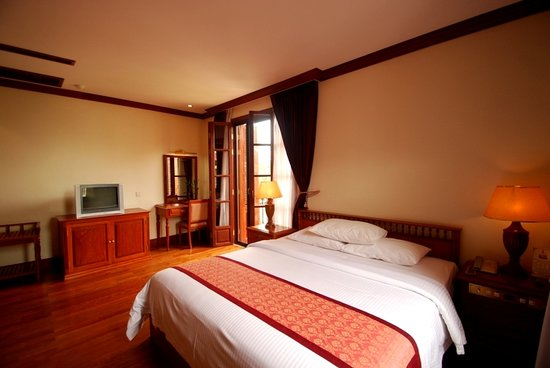 Steung Siemreap Hotel: Deluxe Room