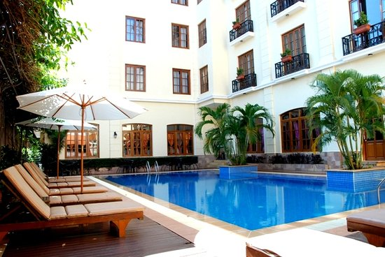 Steung Siemreap Thmey Hotel: Swimming Pool