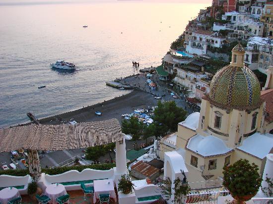 Le Sirenuse Hotel: Panorama da terrazzo