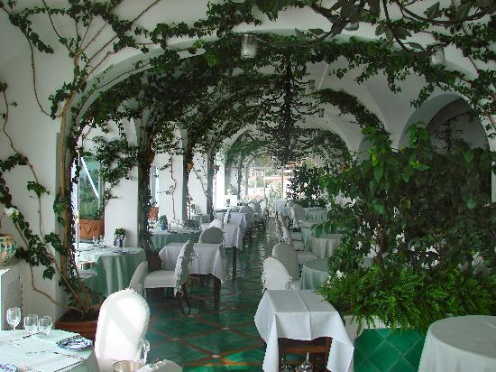 Le Sirenuse Hotel: Il Ristorante